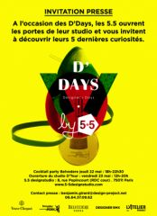 5.5 designstudio - D'Days